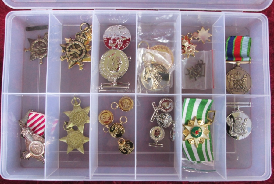 Replica Full Size and Miniature Medals | Kiwi Medal Mounting
